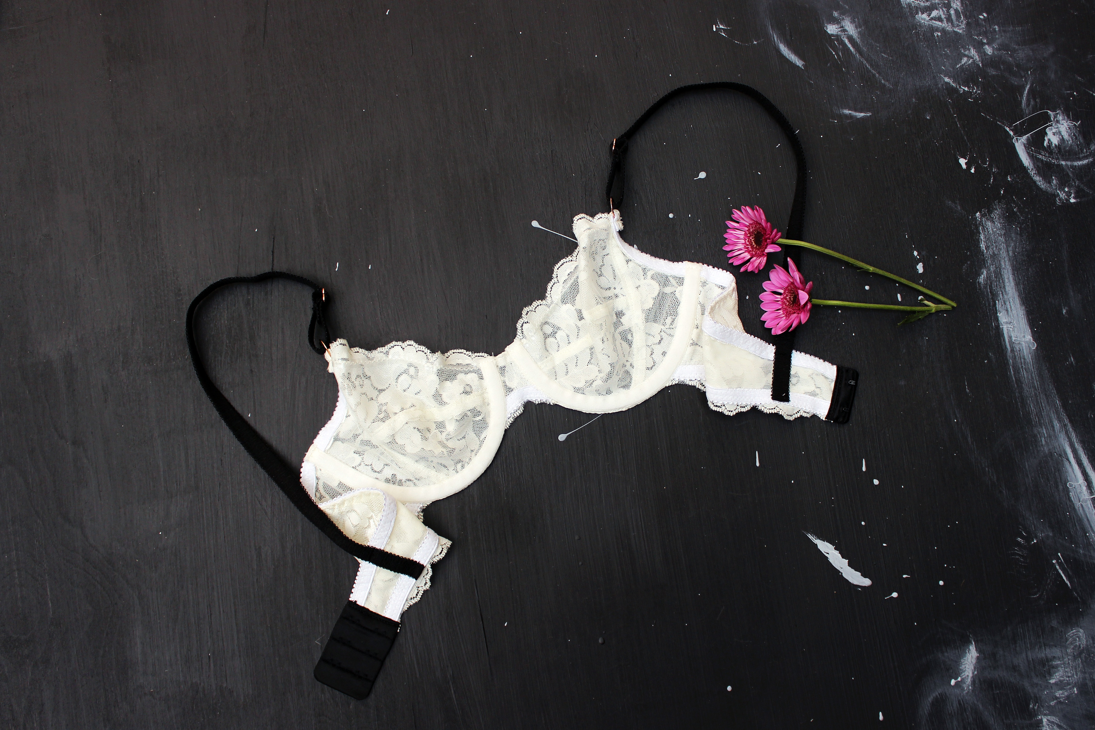 DIY Hand Made Lingerie Marlborough Bra Tailor Made Shop