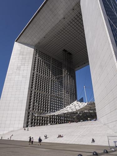Gran Arco de La Defensa, París