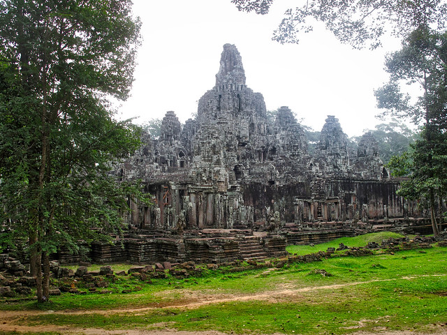 Bayon, Siem Reap, Cambodia, Canon POWERSHOT G10, Canon 6.1-30.5 mm