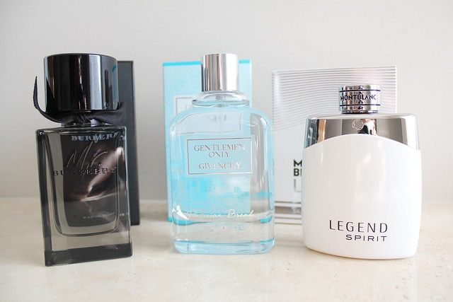 mr. burberry review, givenchy gentleman only review, legend spirit review