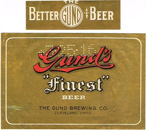 Gunds--quot-Finest-quot--Beer-Labels-Gund-Brewing-Co