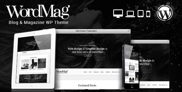 WordMag v1.0 - Typography Focused WordPress Magzine Theme