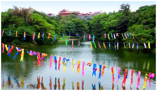 GETTING READY FOR CHILDREN'S DAY AND GOLDEN WEEK at SHURI CASTLE
