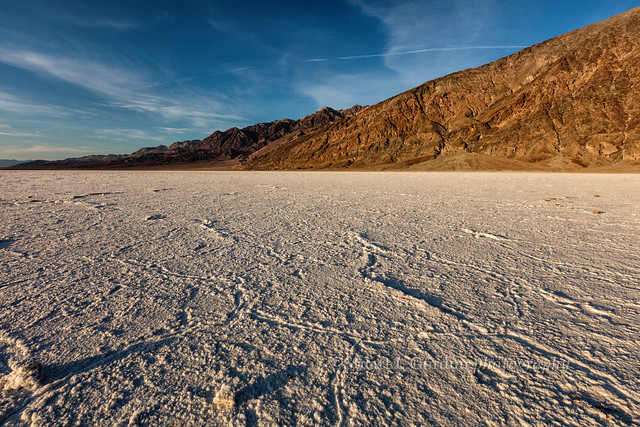 Sunset at Badwater Basin