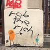 Rob the rich --> #streetart #Berlin by #DaveTheChimp