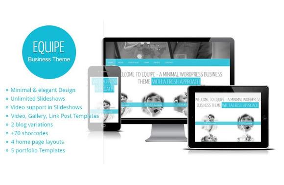 Creativemarket Equipe v1.1 – Responsive WordPress Theme