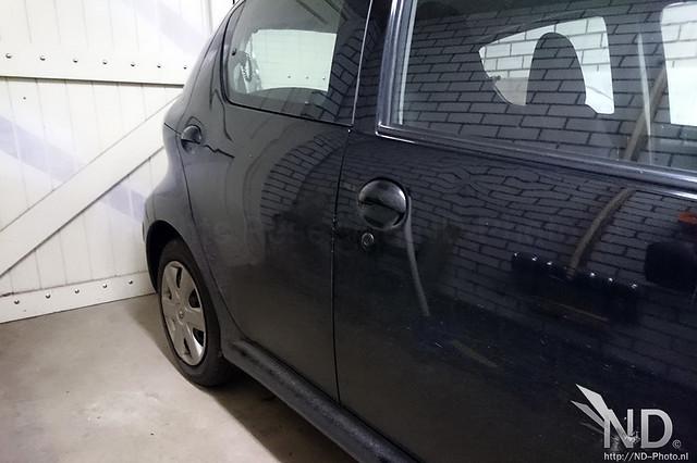 Black keyhole
