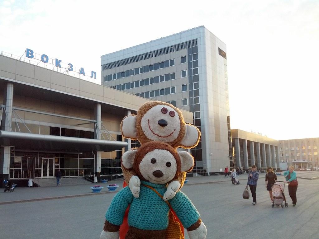 Tyumen train station