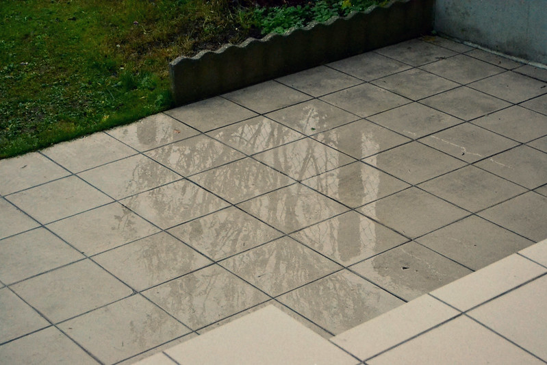 reflejo en la lluvia