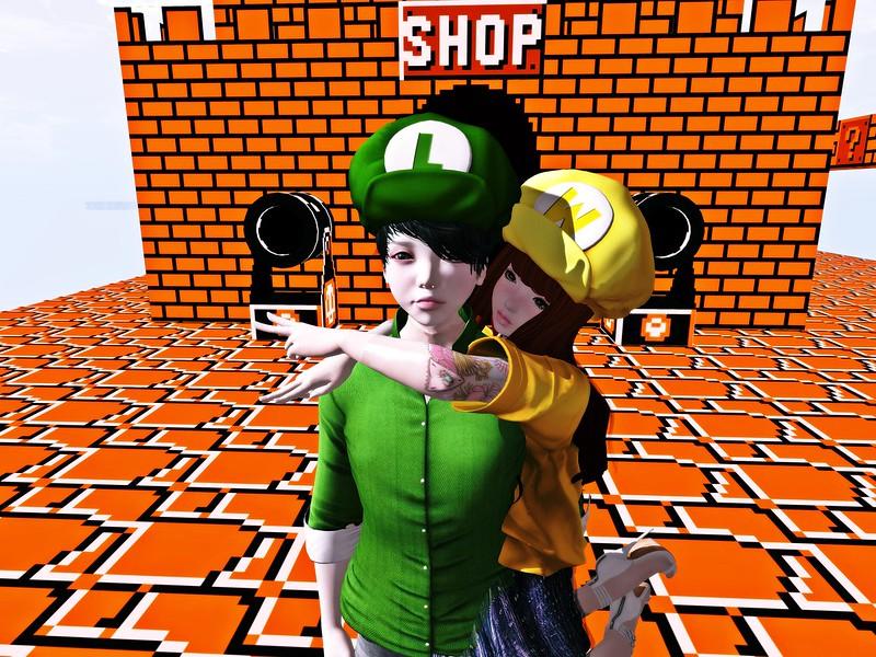 Luigi and Wario ;)