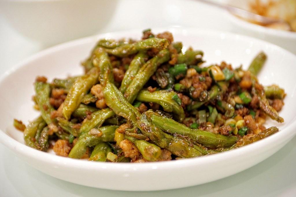 乾扁四季豆,帶著一點鹹味,頗好吃的,也是下飯的好物!