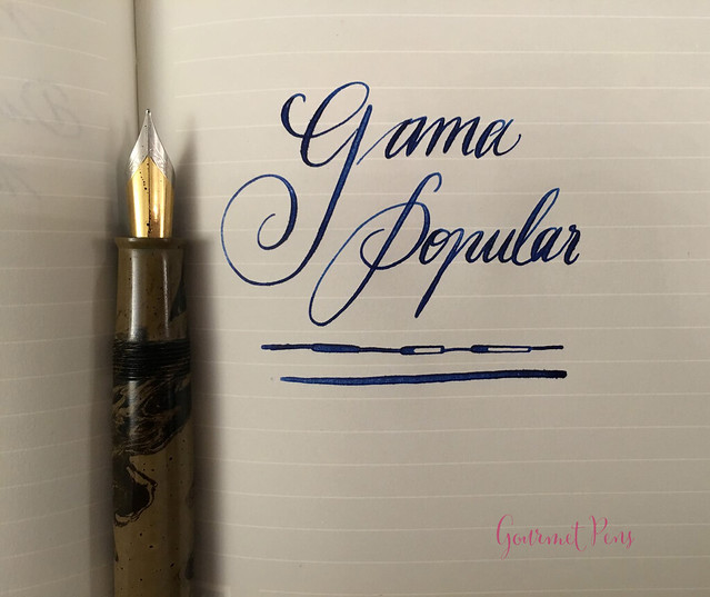 Review Gama Popular Fountain Pen - Flex @FPRevolution (13)
