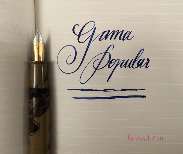 Review Gama Popular Fountain Pen - Flex @FPRevolution (13)