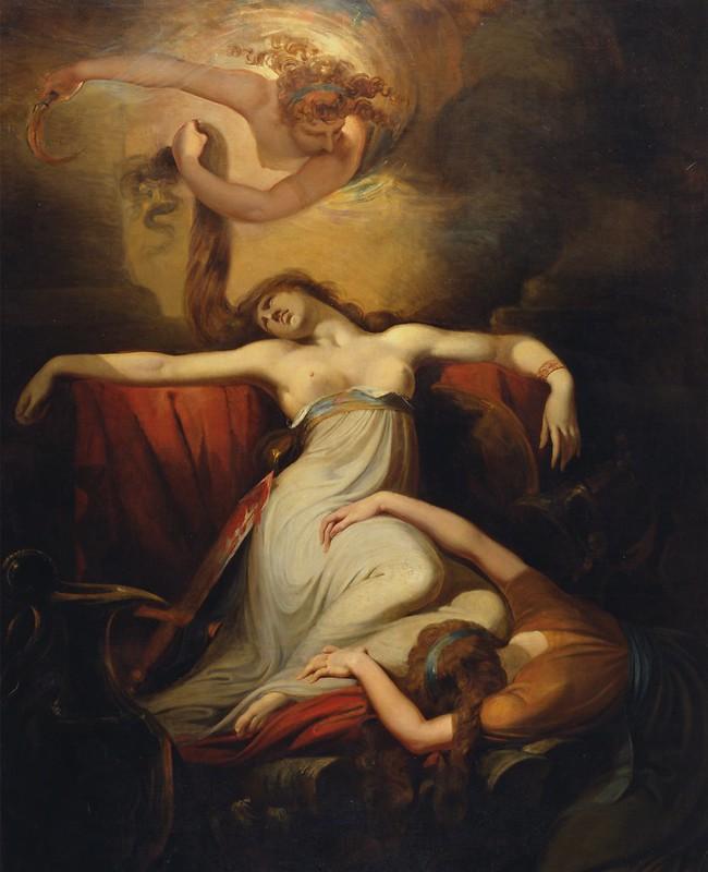 Henry Fuseli - Dido (1781)