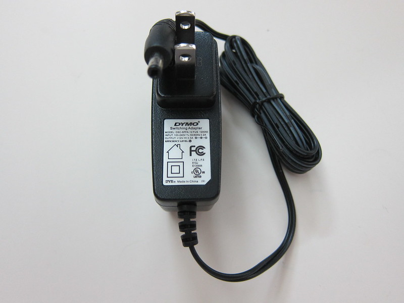 DYMO LabelManager 280 - Power Adapter