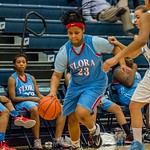 AC Flora JV Ladies bball vs Chapin 1-28-16