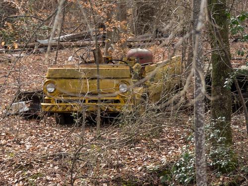 Abandoned car - 4
