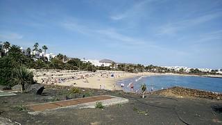 Playa de las Cucharas の画像. lanzarote 2016 costateguise