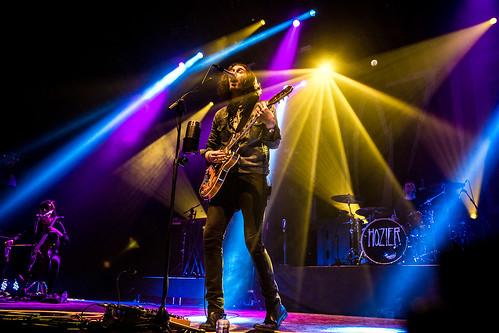 Hozier Heineken Music Hall mashup foto - Hozier @ Vorst Nationaal 2016 (Jan Van den Bulck)