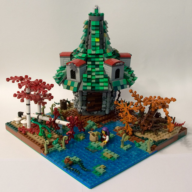Cabin in the swamps