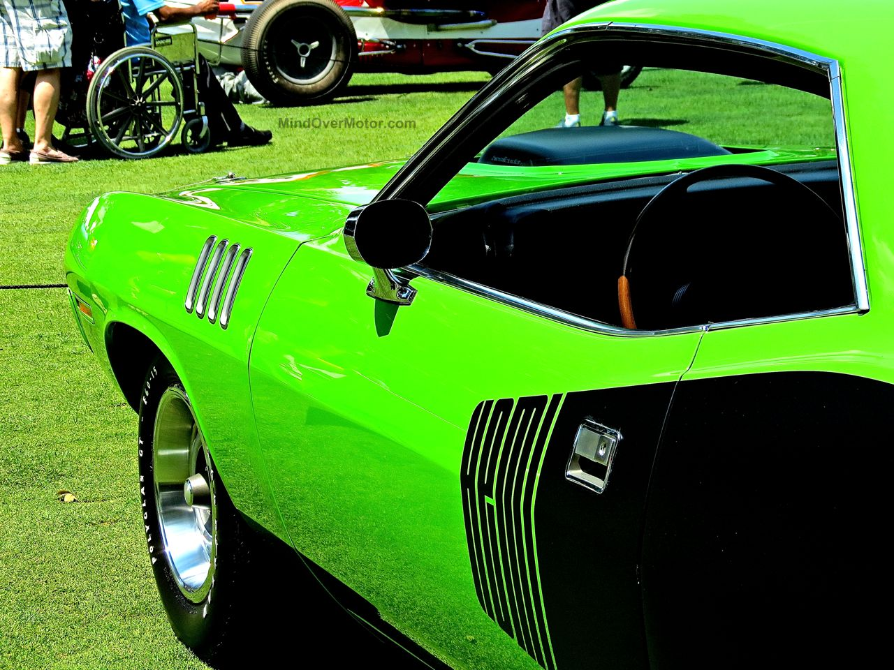 1971 Plymouth Hemicuda Concours of America 7