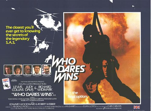 Who Dares Wins - Poster 2