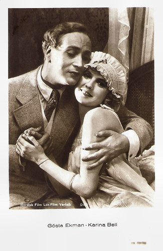 Gösta Ekman and Karina Bell in Klovnen (1926)