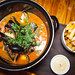 Moules Frites \'Congolaise\' - Mussels, tomato coconut cream, smoked chili, lime, cilantro