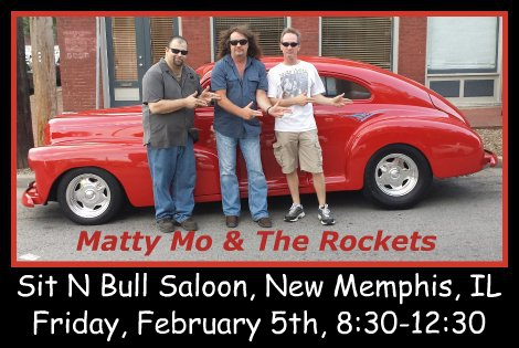 Matty Mo & The Rockets 2-5-16