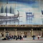 Refugees arrive at Piraeus port