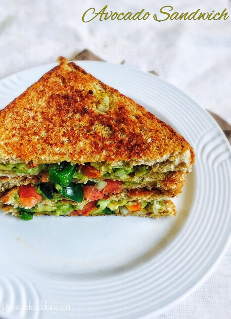 Avocado Sandwich Recipe for Toddlers and Kids 1