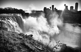 Niagara Falls Sunset | by Marcela McGreal