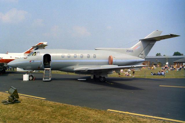 ZD621 BAe 125 CC.3