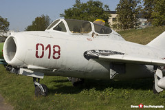 018 - 1A06018 - Polish Air Force - PZL-Mielec SBLim-2M MiG-15UTI - Polish Aviation Musuem - Krakow, Poland - 151010 - Steven Gray - IMG_0124