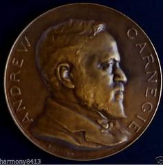 Belgian Carnegie hero Fund medal obverse