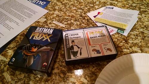 Batman Fluxx Card Set