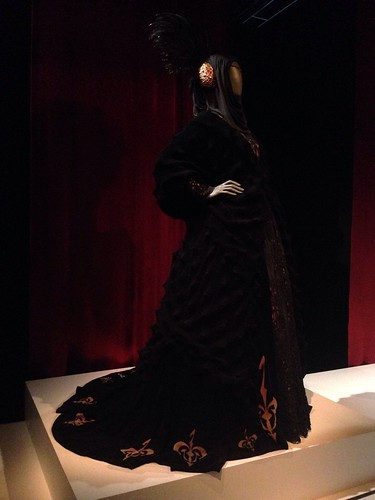 Black Traveling Gown