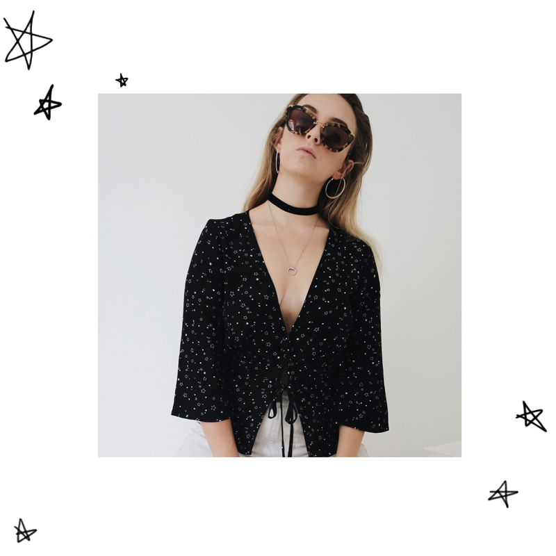 Kendra Alexandra | StolenInspiration.com | New Zealand Fashion Blogger | Glassons Miu Miu Velvet Choker
