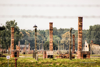 Hornos en Auschwitz II - Birkenau