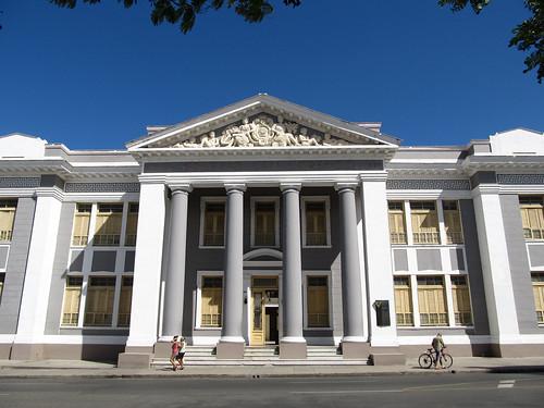 Cienfuegos: le Collège San Lorenzo (dans le Parc José Martí)