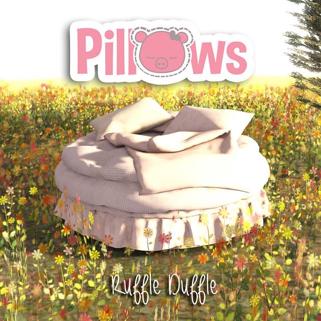 Ruffle Duffle Bed