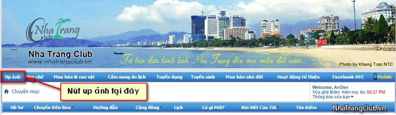 Hướng dẫn up ảnh - chèn ảnh vào bài viết trên diễn đàn NTC