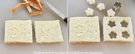 Sprinkle Sandwich - Step1