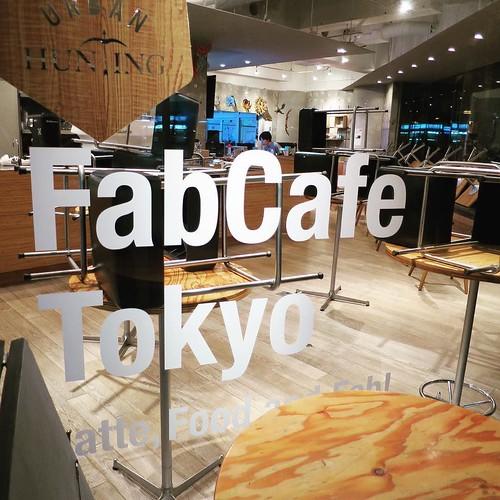 会場は、FabCafe Tokyo