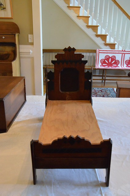 Antique doll bed - Housepitality Designs