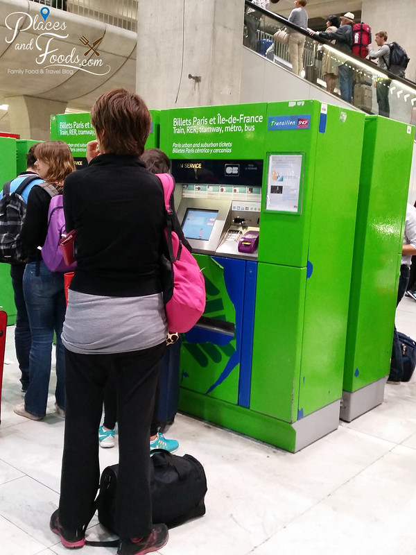 paris cdg airport train ticket machine