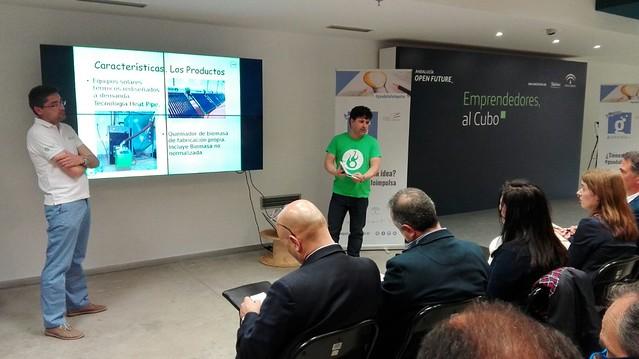Presentación de los proyectos de los emprendedores de #GuadalinfoImpulsa