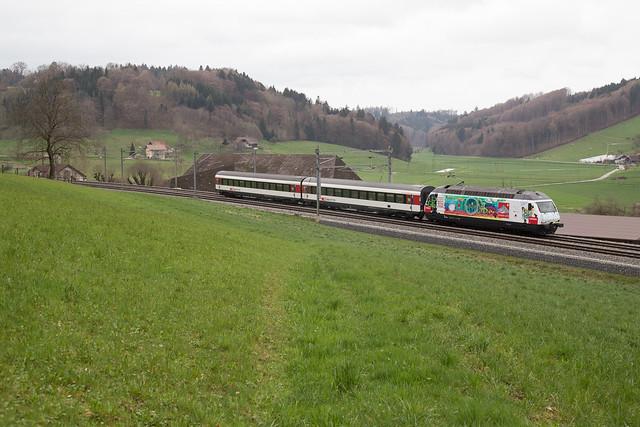 SBB Re 460 099 Die Mobiliar / Gottardo 2016