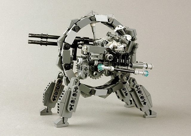 General Grievous with Wheel Bike