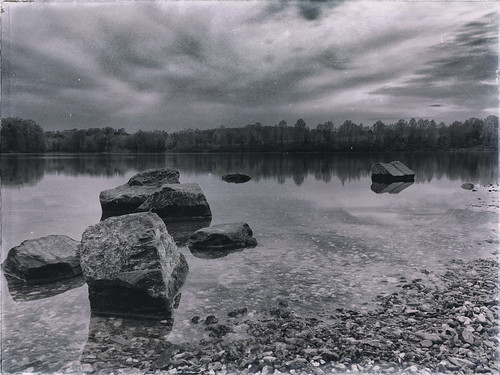 longexposure blackandwhite film antique grain iphone littlesenecalake blackhillsregional